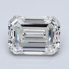 Current Stone: 2,01 Carat Emerald Cut