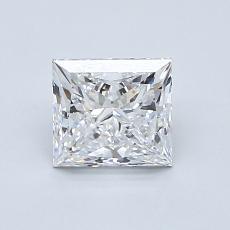 推薦鑽石 #3: 1.09  克拉公主方形鑽石