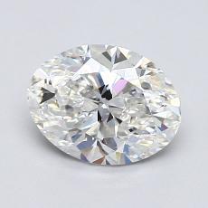 Current Stone: 1.02-Carat Oval Cut