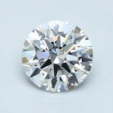 1.00 Carat 圓形 Diamond 理想 D IF