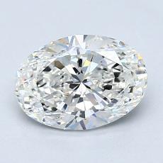 1.20-Carat Oval Diamond Very Good H VS2