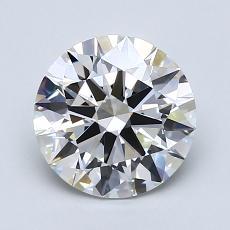1.61 Carat 圓形 Diamond 理想 G VVS1