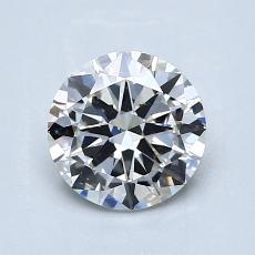 Piedra recomendada 1: Talla redonda de 1.01 quilates