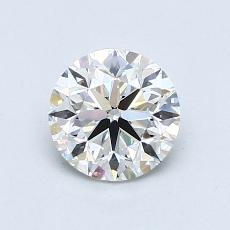 1.01-Carat Round Diamond Very Good F VVS2