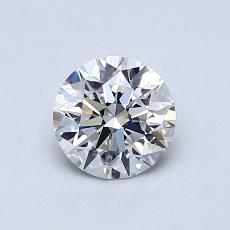 0.70 Carat Redondo Diamond Ideal E VVS2