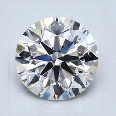 1.51 Carat 圆形 Diamond 理想 G VVS1