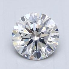 1.08 Carat 圆形 Diamond 理想 F VS2