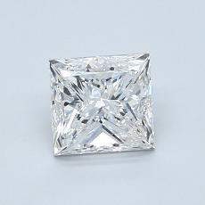 Recommended Stone #4: 1.00-Carat Princess Cut