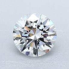 目前的寶石: 1.50  克拉圓形切割