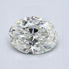 0,90-Carat Oval Diamond Very Good G VS2