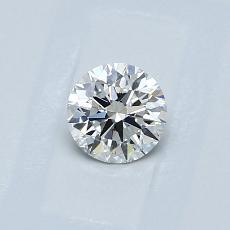 0.40-Carat Round Diamond Ideal H VS1