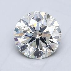 1.00 Carat 圓形 Diamond 理想 I SI2
