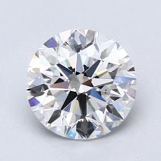 推薦鑽石 #3: 1.63  克拉圓形切割