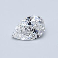 0.50 Carat 梨形 Diamond 非常好 D SI1