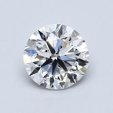 1.00 Carat 圓形 Diamond 非常好 E VS1