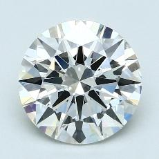 Recommended Stone #2: 2.49-Carat Round Cut