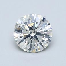 1.01 Carat 圓形 Diamond 理想 I SI2