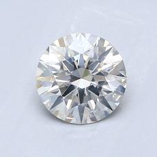 0,81 Carat Rond Diamond Idéale I SI1