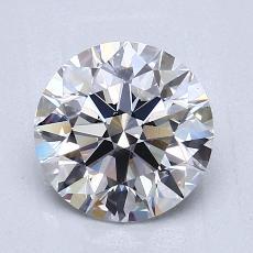 推薦鑽石 #4: 1.51  克拉圓形切割