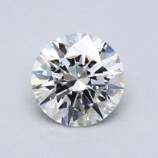 1.00 Carat 圆形 Diamond 理想 J VS1