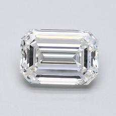 1,54-Carat Emerald Diamond Very Good G VVS1