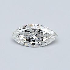 0.35-Carat Marquise Diamond Very Good F VS2