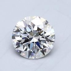 Recommended Stone #2: 0.74-Carat Round Cut