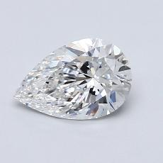 Recommended Stone #2: 0,83-Carat Pear Shaped