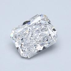 Recommended Stone #3: 1.02-Carat Radiant Cut