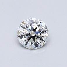 Recommended Stone #1: 0.50-Carat Round Cut