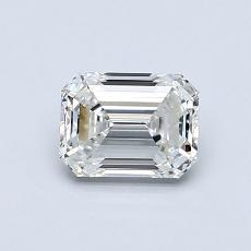 Recommended Stone #2: 0,80-Carat Emerald Cut
