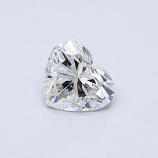 Recommended Stone #4: 0.43-Carat Heart Shaped