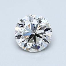 推荐宝石 2:1.01 克拉圆形切割