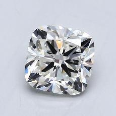 1.02-Carat Cushion Diamond Very Good H VVS2