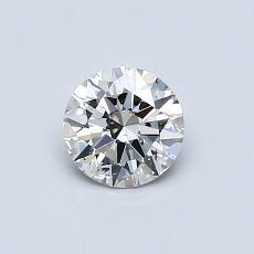 目前的寶石: 0.53  克拉圓形切割