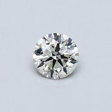 推薦鑽石 #4: 0.31 克拉圓形切割鑽石