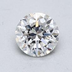 推荐宝石 2:1.00 克拉圆形切割