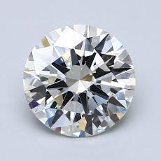 1.50 Carat Redondo Diamond Ideal I VS1