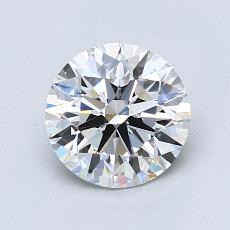 推荐宝石 3:1.23 克拉圆形切割