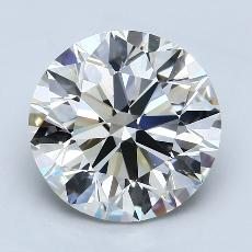 Recommended Stone #4: 4.06-Carat Round Cut Diamond