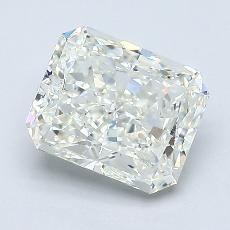 1.50-Carat Radiant Diamond Very Good J VVS2