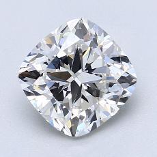 推薦鑽石 #1: 2.01 克拉墊形切割
