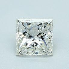 1.01 Carat Princesa Diamond Muy buena J VVS2