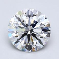 1.50 Carat 圓形 Diamond 理想 D VS1