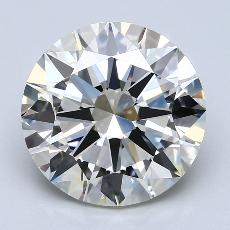 Recommended Stone #3: 5.00-Carat Round Cut