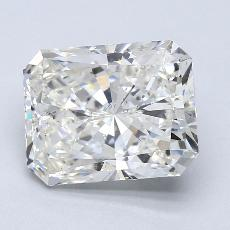3.21-Carat Radiant Diamond Very Good H SI2