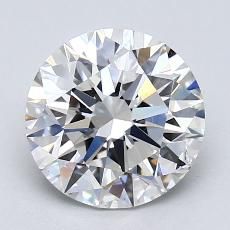 Recommended Stone #4: 2.28-Carat Round Cut