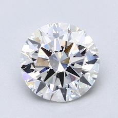 1.50 Carat 圆形 Diamond 理想 G VS1