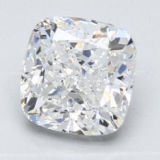 推薦鑽石 #2: 2.01 克拉墊形切割