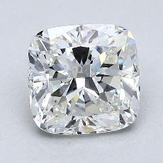 2.03-Carat Cushion Diamond Very Good F VS2